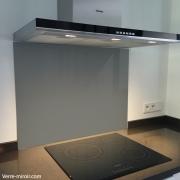 fond de hotte verre securit laque. Black Bedroom Furniture Sets. Home Design Ideas