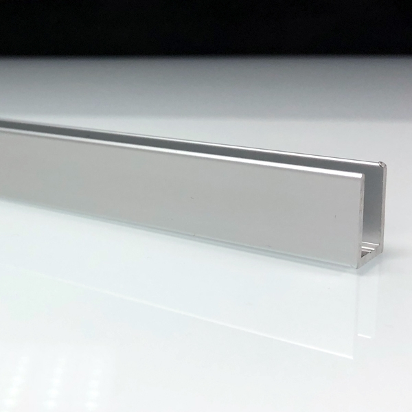 profil de douche en aluminium anodis mate. Black Bedroom Furniture Sets. Home Design Ideas