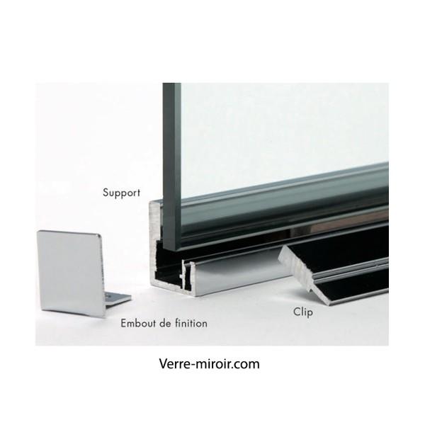 Profil f209 f212 verri re atelier artiste - Aluminium poli miroir ...