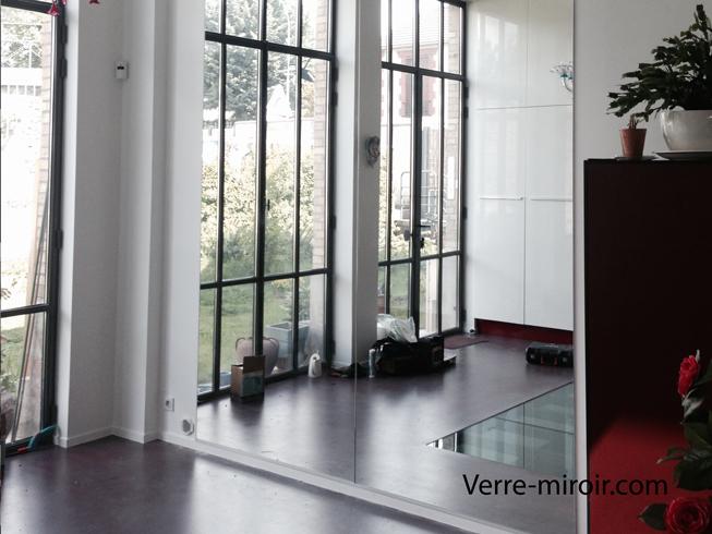 Miroir mural sur mesure for Miroir pour sejour