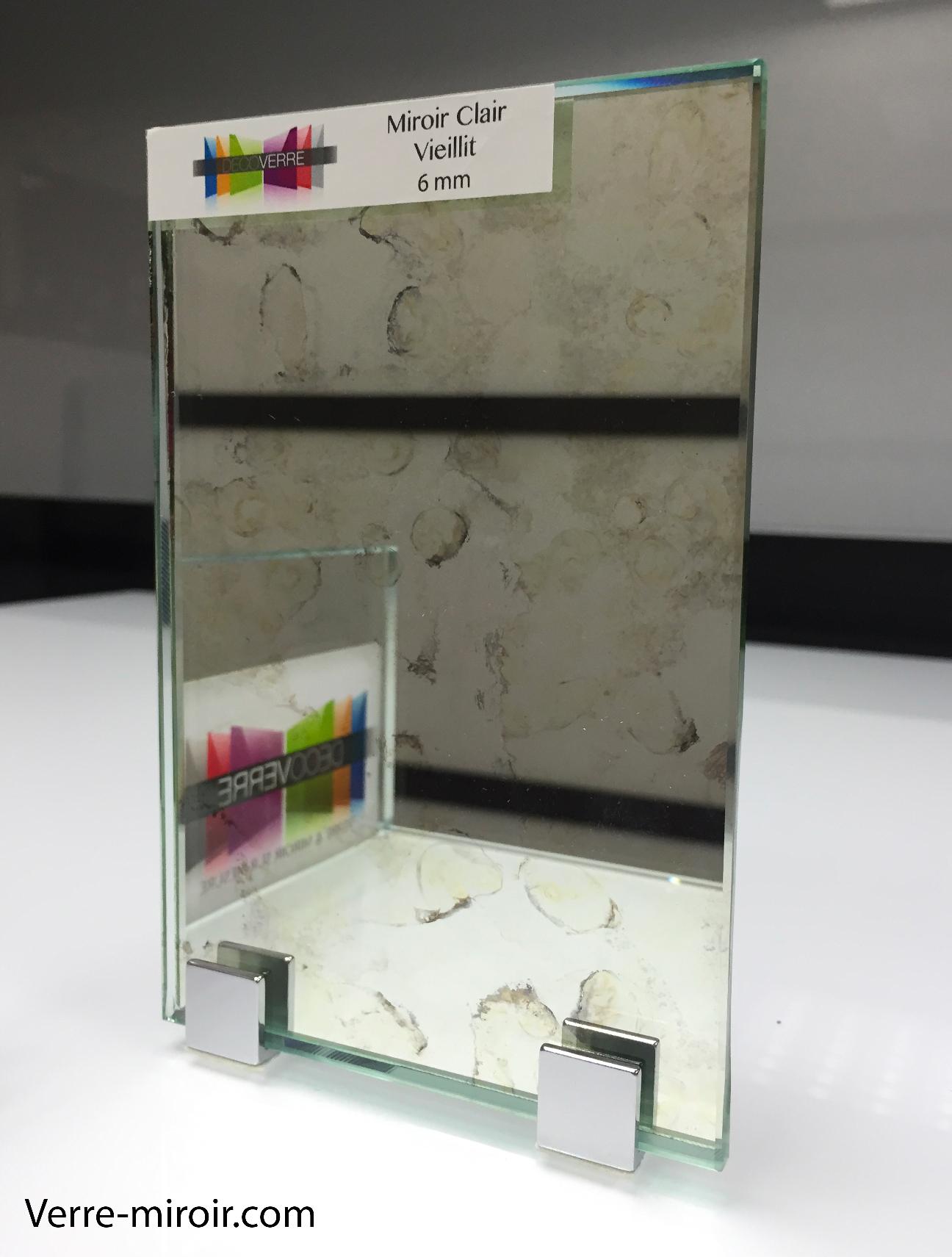 Miroir vieilli clair
