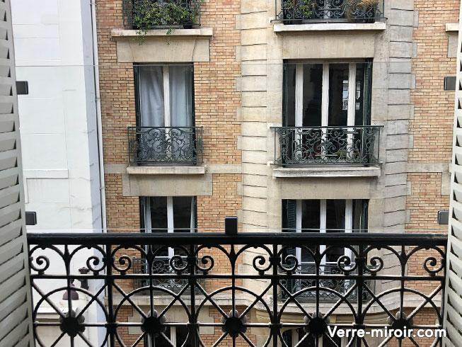 Protection fenêtre en verre feuilleté