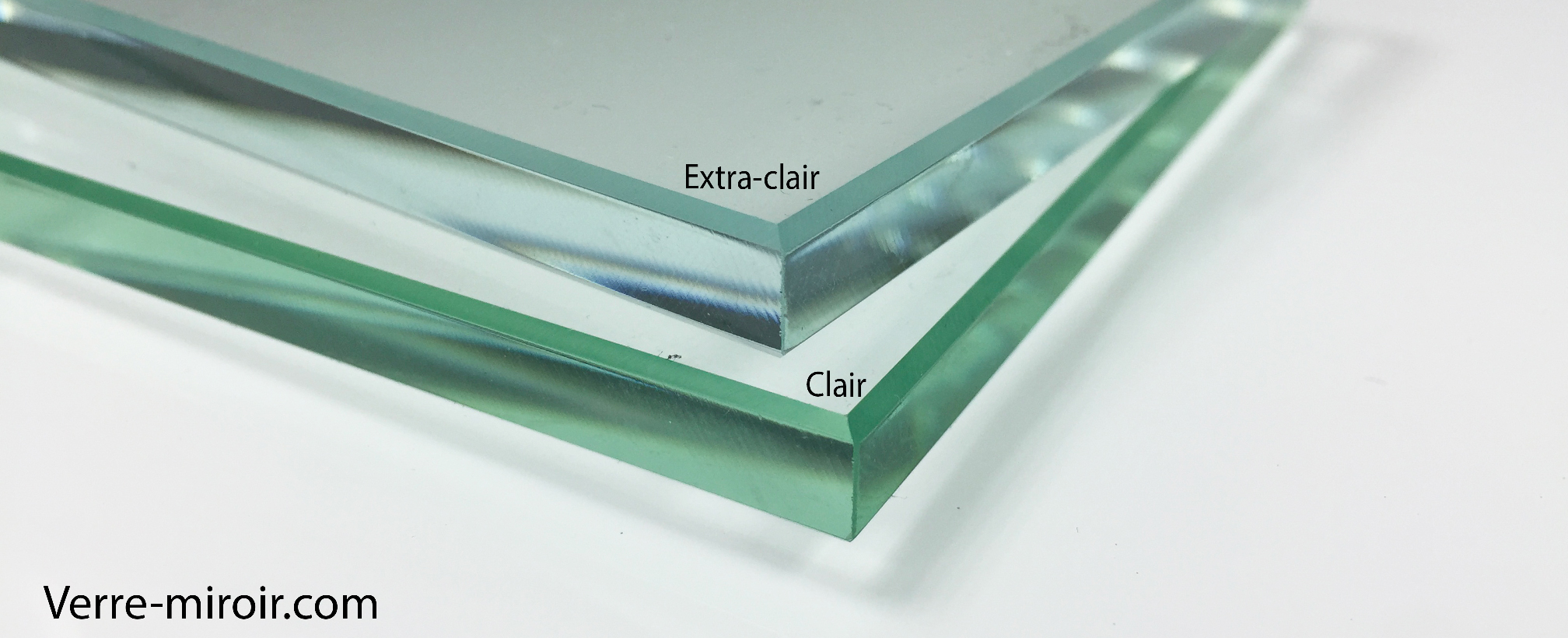 Verre extra clair difference verre clair