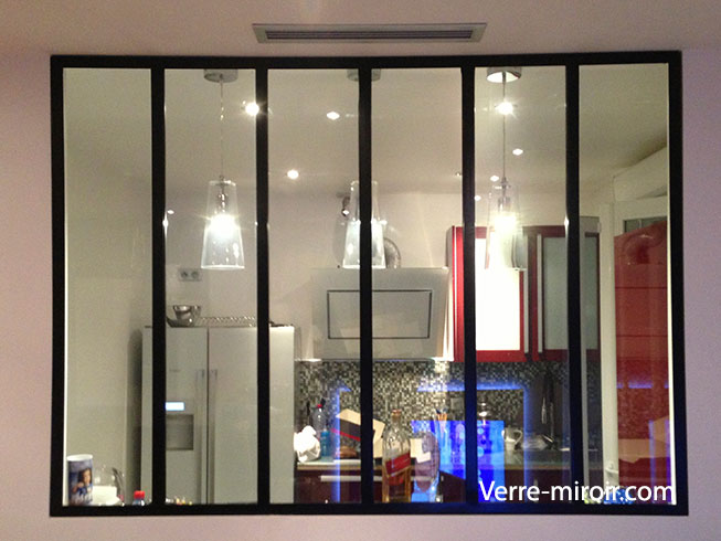 Verri re type atelier for Verriere miroir