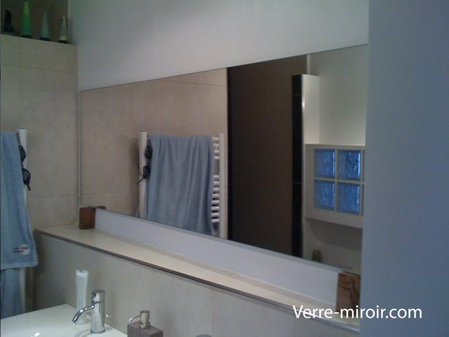 Miroir de dalle de bain