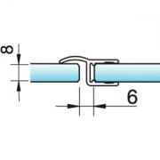 Joint d'étanchéité à lèvre déporté verre/verre