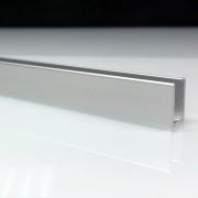 Profilé de douche en aluminium anodise mate