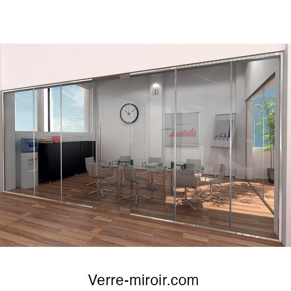 profil f317 pour chassis fixe et s paration en verre. Black Bedroom Furniture Sets. Home Design Ideas