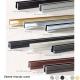 Profile f209 F212 clipper diffusion couleur laiton brosse inox noir chrome