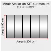 Kit miroir atelier sur mesure