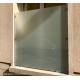 Protection de fenêtre en verre pince verre