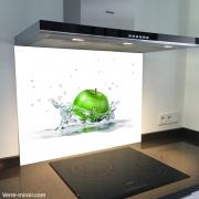 Fond de hotte verre imprimé personnalisé culinaire 3