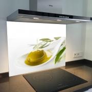 Fond de hotte verre imprimé personnalisé culinaire 10