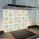 Fond de hotte verre imprimé personnalisé matière 10