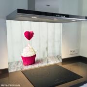 Fond de hotte verre imprimé personnalisé culinaire 13