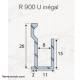 Plan Profile R900 spécial miroir U inégal