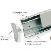 Profile R802 clipper diffusion spécial miroir