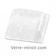 Pastilles adhésives anti-dérapante carrée pour verre