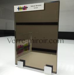 Miroir bronze sur mesure