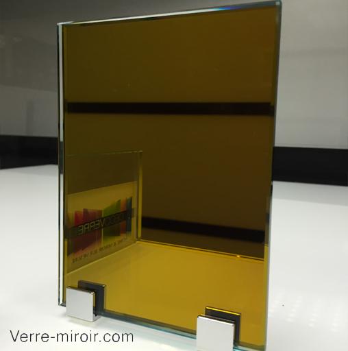 Miroir or - gold sur mesure