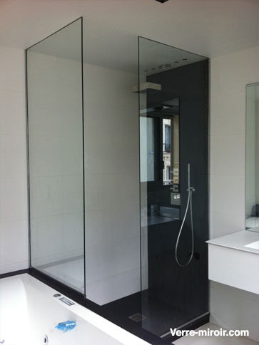porte de douche sur mesure. Black Bedroom Furniture Sets. Home Design Ideas
