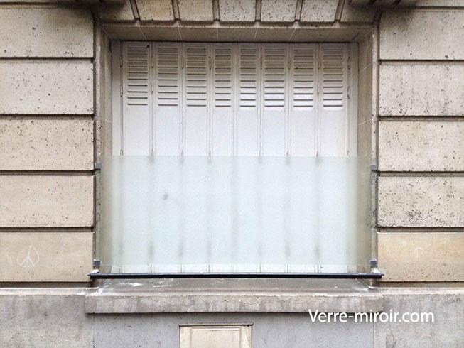 Protection de fenêtre en verre feuilleté imprimé 200