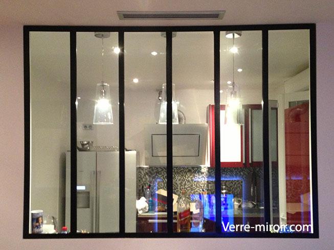 Verri re type atelier for Miroir type verriere