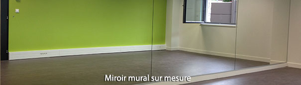 miroir mural sur mesure