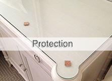 Protection en verre trempé sur mesure