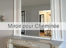 Miroir pour cheminée